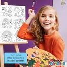 Children's Colour-In Magnet Craft Set - Unicorns additional 3