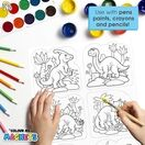 Children's Colour-In Magnet Craft Set - Unicorns additional 5