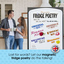 Magnetic Poetry For Your Fridge, Whiteboards, Home and Office - Original 1 additional 5