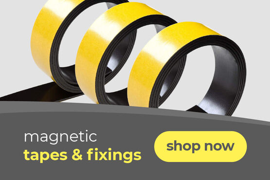 magnetic tapes and fixings